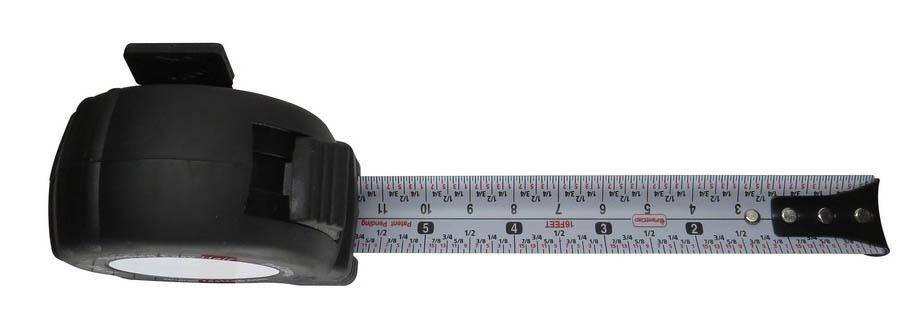 Maximale grootte rolluik, rolmaat