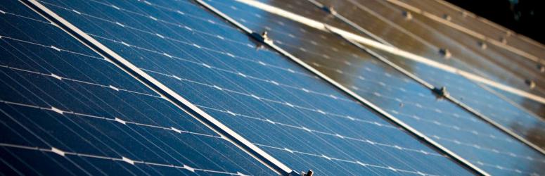 Rolluiken op zonne-energie